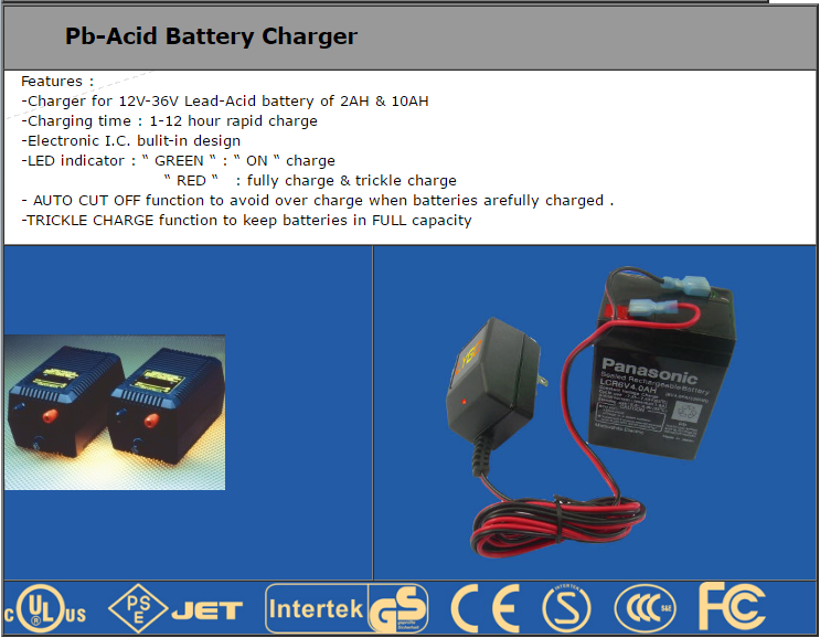 Pb-Acid BATTERY Charger